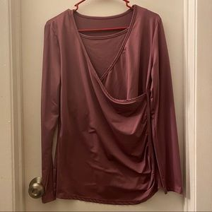 Medium Long sleeve Nursing/Maternity blouse
